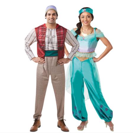 Aladdin par kostume disney par kostume aladdin og jasmin kostumer til voksne