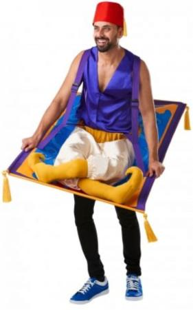aladdin på det flyvende tæppe kostume til voksne