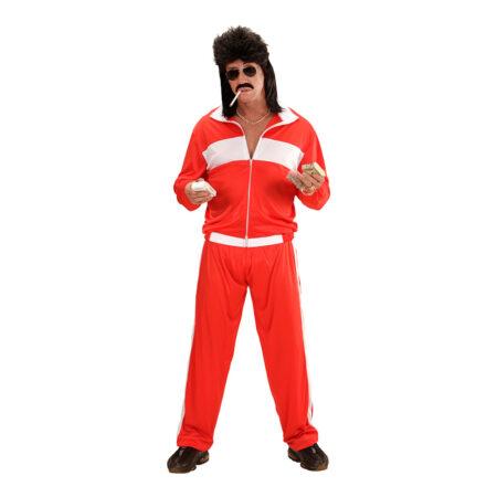 80ER KOSTUME TRÆNINGSDRAGT RØD 450x450 - Røde kostumer til voksne