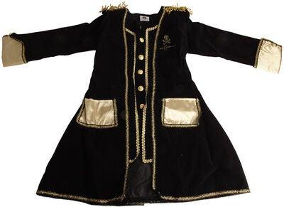 Kaptajn Sabeltand jakke - Kaptajn Sabeltand kostume til børn