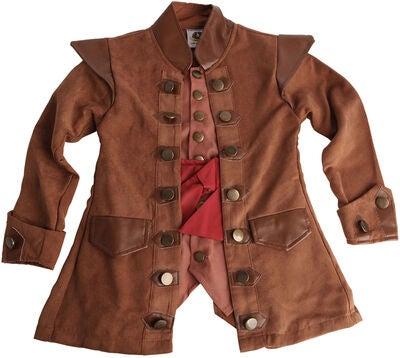 Kaptajn Sabeltand kostume - Kaptajn Sabeltand kostume til børn