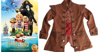 kaptajn sabeltand kostume til børn, kaptajn sabeltand børnekostume, kaptajn sabeltand udklædning til børn, kaptajn sabeltand fastelavnskostume til børn, kaptajn sabeltand kostumer, sørøver kostumer til børn
