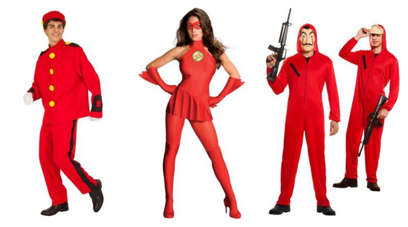 røde kostumer til voksne, røde voksenkostumer, rød udklædning til voksne, kostume til rød temafest, røde kostumer til kvinder, røde kostumer til mænd, røde kostumer budget, røde fastelavnskostumer, valentinsdag kostumer, fastelavnskostumer, billige fastelavnskostumer, kendte fastelavnskostumer, fastelavn 2021, kostumer til sidste skoledag