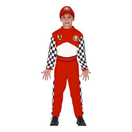 Racerkører børnekostume 450x450 - Røde kostumer til børn