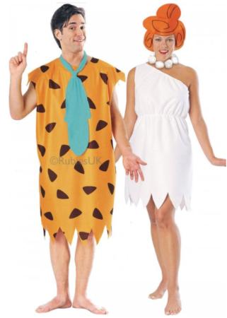 amerikansk tegnefilm kostume fred flintstone kostume wilma kostume usa kostume til voksne