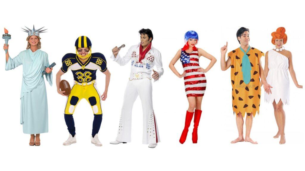 amerikansk udklædning usa temafest kostume usa kendt kostume stars and stribes kostume elvis kostume frihedsgudinde kostume amerikansk fest