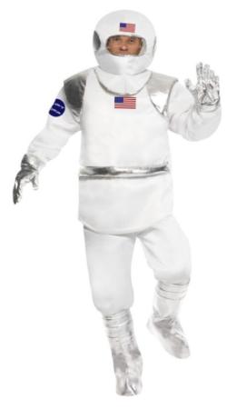astronaut kostume til voksne amstrong kostume til voksne månelanding udklædning