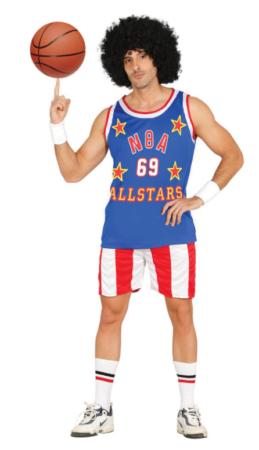 basketballspiller kostumer baske udklædning amerikansk kostume til voksne