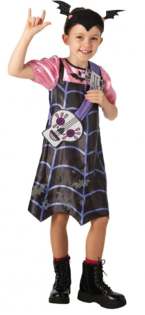 disney halloween kostume vampirina kostume til piger luksus vampirina udklædning halloween prinsesse kostume