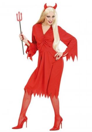 djævel kostume til kvinder 315x450 - Røde kostumer til voksne