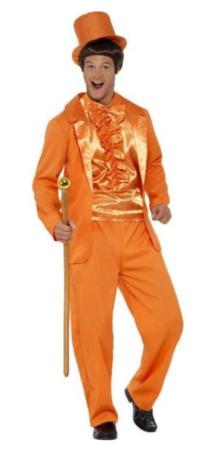 dum dummere kostume jim carrey kostume amerikansk film kostume orange kostume til voksne