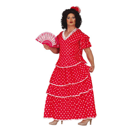 flamenco kostume til mænd 450x450 - Røde kostumer til voksne