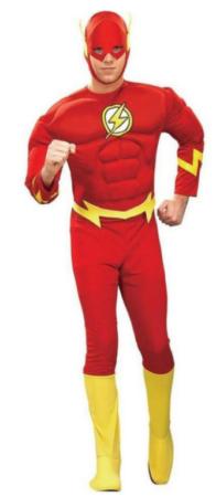 flash lynet kostume til voksne superheltekostume til voksne
