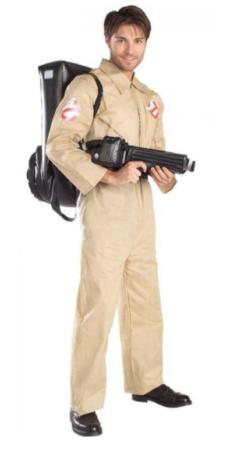ghostbusters kostume til voksne amerikansk film kostume hollywood kostume til voksne 80er kostume