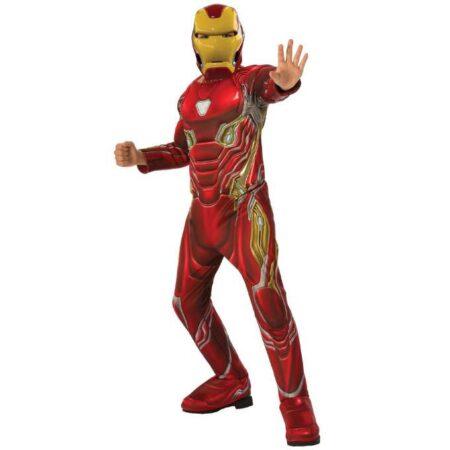 iron man børnekostume 450x450 - Røde kostumer til børn