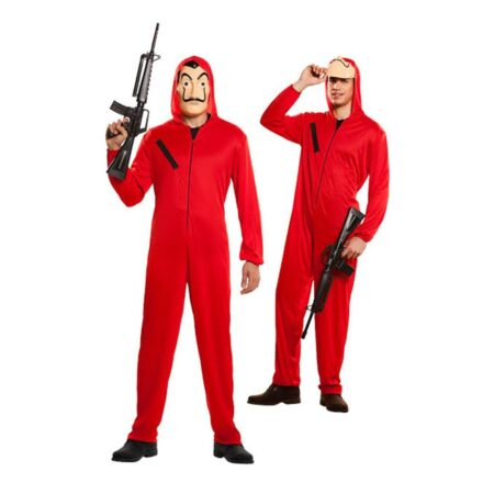 la casa de papel kostume 450x450 - Røde kostumer til voksne
