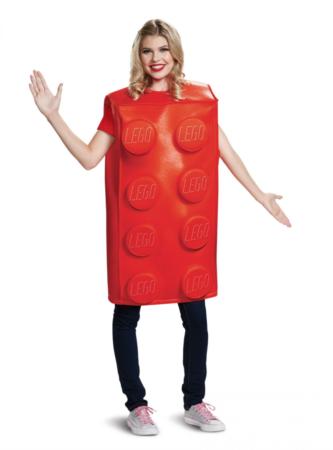 lego kostume til voksne 333x450 - Røde kostumer til voksne