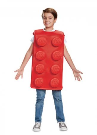 legoklods kostume 326x450 - Røde kostumer til børn