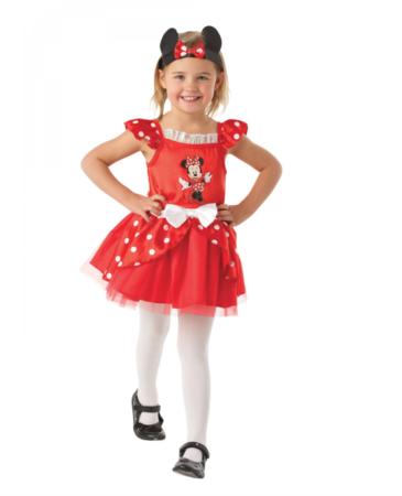 minnie mouse børnekostume 365x450 - Røde kostumer til børn