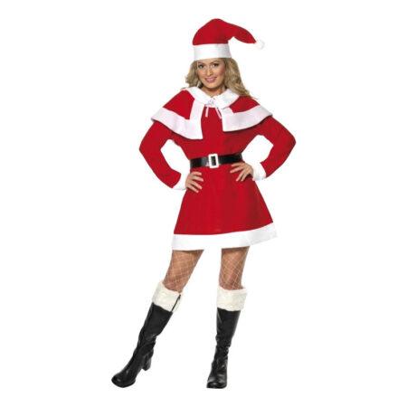 nissemor til kvinder røde feminine kostumer 450x450 - Røde kostumer til voksne