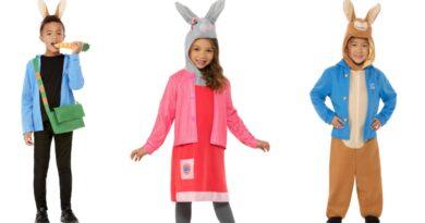 peter kanin kostume til børn, peter kanin udklædning til børn, peter kanin børnekostume, peter kanin fastelavnskostumer,