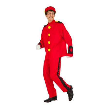 piccolo kostume til voksne uniform kostume 450x450 - Røde kostumer til voksne
