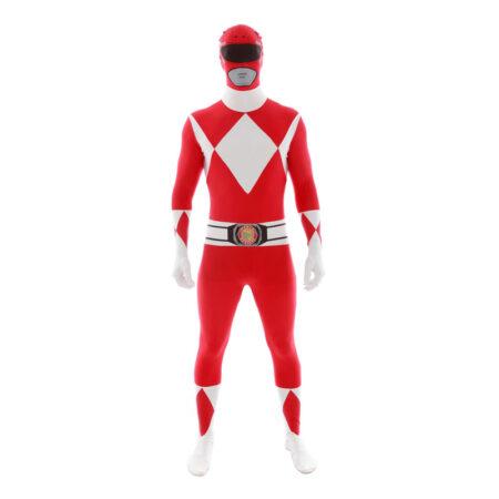 rød power ranger voksenkostume 450x450 - Røde kostumer til voksne