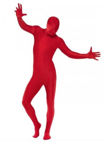 rød skinsuit til voksne 334x450 - Røde kostumer til voksne