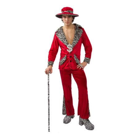rødt alfons kostume 450x450 - Røde kostumer til voksne