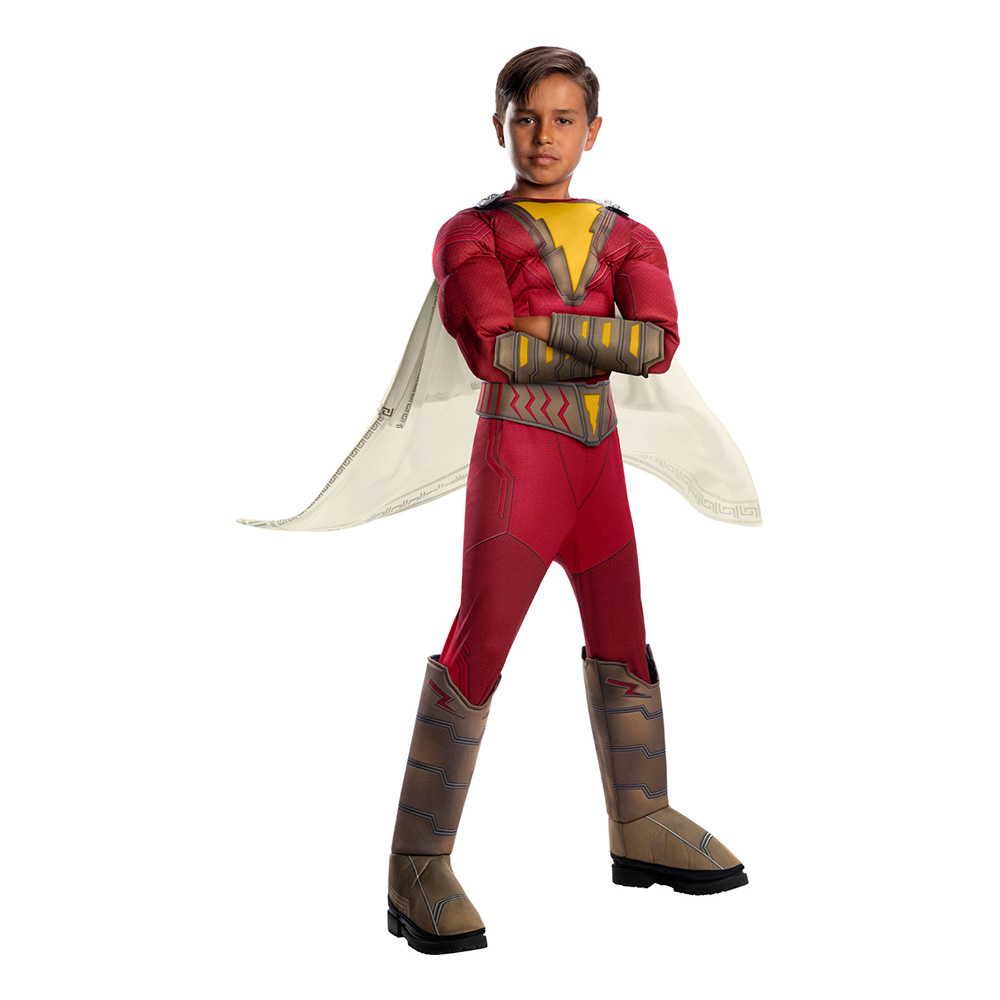 shazam børnekostume - Røde kostumer til børn