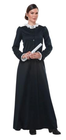 susan B anthony kostume amerikansk kvindeforkæmper historisk kostume amerikansk kostume