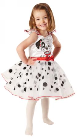 101 dalmatinere kjole til piger dalmatiner udklædning til barn hundekjole