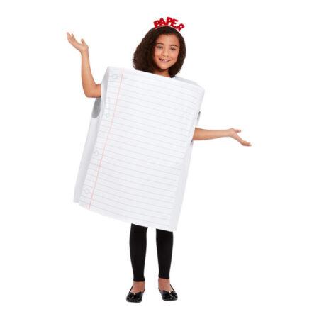 papir kostume notesbog kostume til børn sten saks papir kostume til barn papir udklædning papir børnekostume