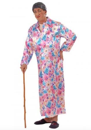 Blotter bedstemor fastelavnskostume 315x450 - Sjove fastelavnskostumer til voksne