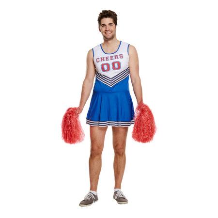 Mandlig cheerleader kostume sjove fastelavnskostumer til voksne 2021 450x450 - Sjove fastelavnskostumer til voksne
