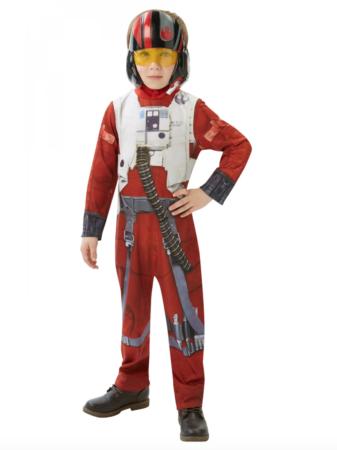 Poe X Wing Fighter Børnekostume børnekostume 337x450 - Billige fastelavnskostumer til drenge under 200 kr