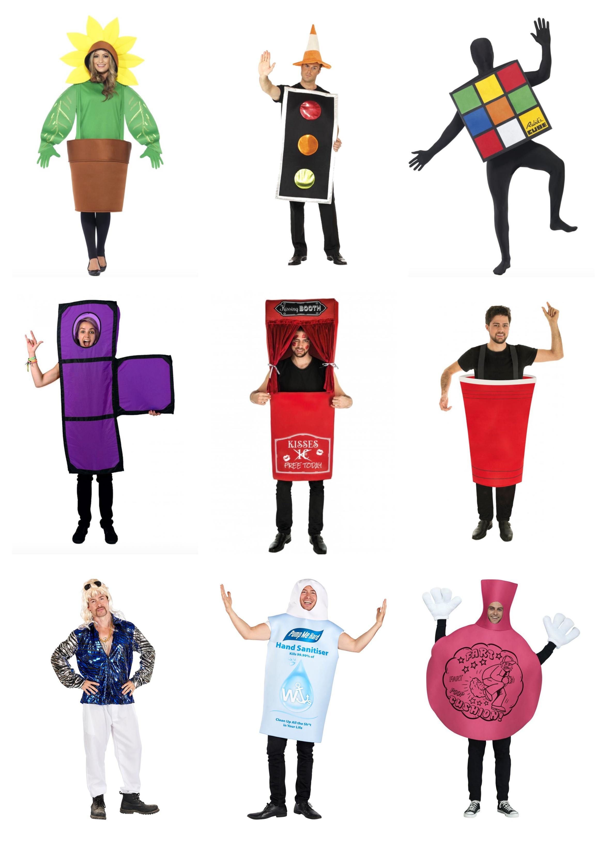 Sjove kostumer til voksne - Sjove fastelavnskostumer til voksne
