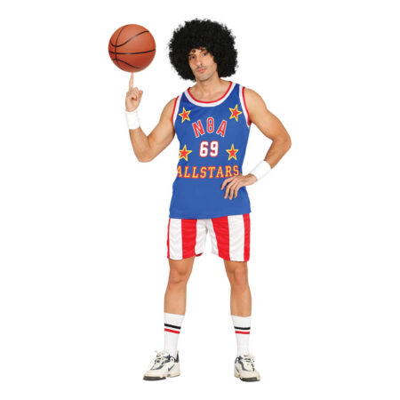 amerikansk basketspiller kostume 450x450 - Billige fastelavnskostumer til mænd under 200 kroner