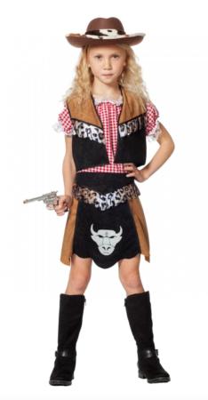 billigt cowboy kostume til piger 234x450 - Billige fastelavnskostumer til piger under 200 kr