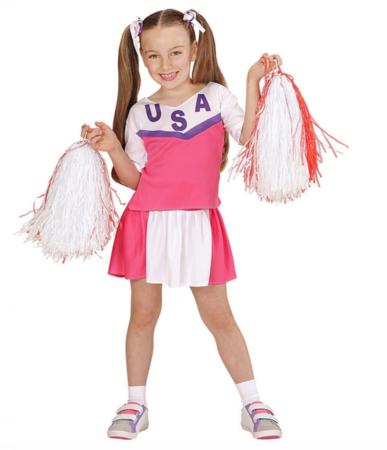cheerleader fastelavnskostume til piger 387x450 - Billige fastelavnskostumer til piger under 200 kr