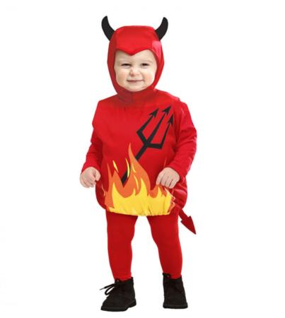 djævel fastelavnskostume til baby halloween kostumer til baby 403x450 - Populære fastelavnskostumer til baby 2021