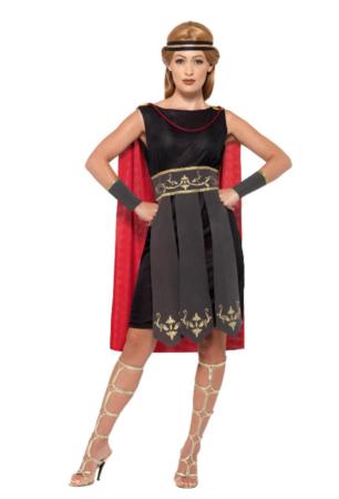 gladiator fastelavnskostume til kvinder 306x450 - Billige fastelavnskostumer til kvinder under 200 kroner
