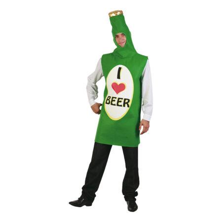 i love beer fastelavnskostume flaske kostume 450x450 - Billige fastelavnskostumer til mænd under 200 kroner