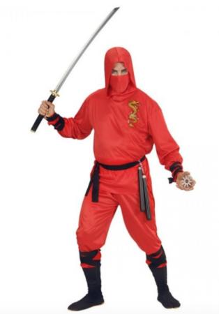 ninja fastelavnskostume til voksne 314x450 - Billige fastelavnskostumer til mænd under 200 kroner