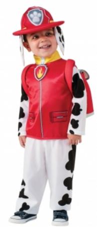 paw patrol dalmatiner kostume superhelte dalmatiner udklædning til børn