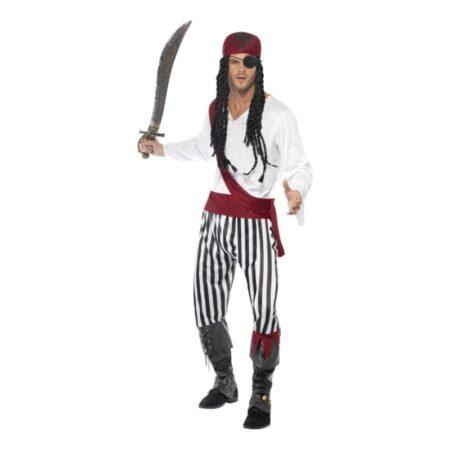 pirat kostume til voksne billige fastelavnskostumer til mænd 450x450 - Billige fastelavnskostumer til mænd under 200 kroner