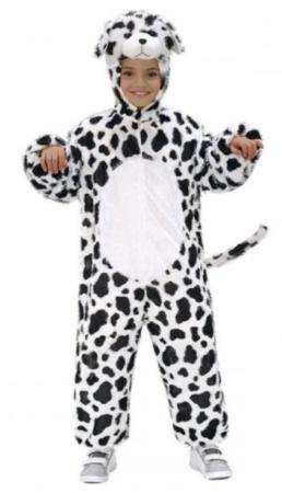 plys heldragt dalmatiner kostume hunde kostume til børn vamt fastelavnskostume til børn