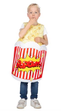 popcorn kostume til børn 248x450 - Sjove fastelavnskostumer til børn