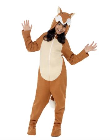 ræv børnekostume billige kostumer til børn 355x450 - Billige fastelavnskostumer til piger under 200 kr