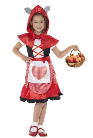 rødhætte kostume til piger 305x450 - Billige fastelavnskostumer til piger under 200 kr